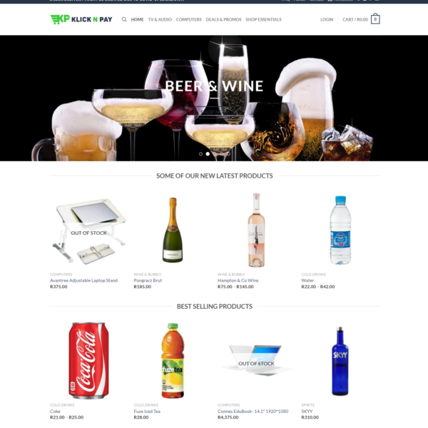 kcilck and pay online store image